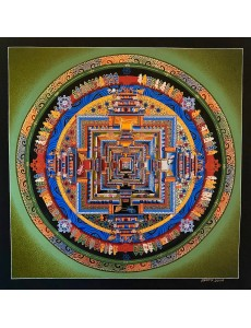 Kalachakra Mandala in Green