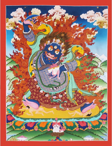 Two Armed Mahakala