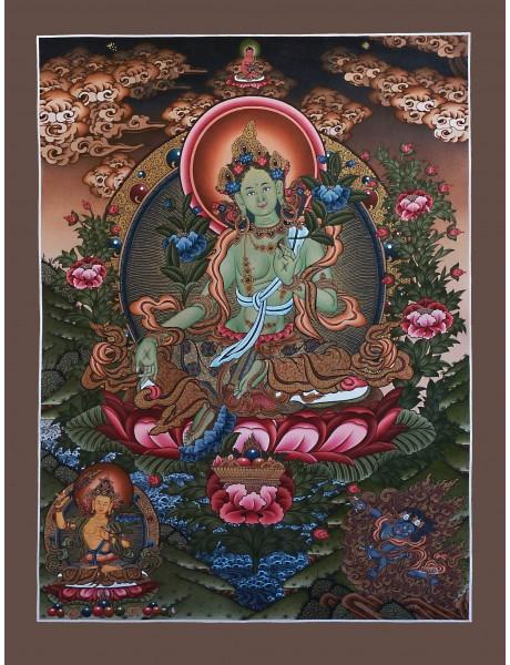 Green Tara Newari Style