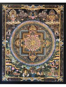 Kalachakra Deity Mandala